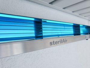 Stérilisateur air cabinet dentaire